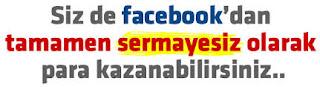 facebooktan para kazanma, facebook tan para kazanma