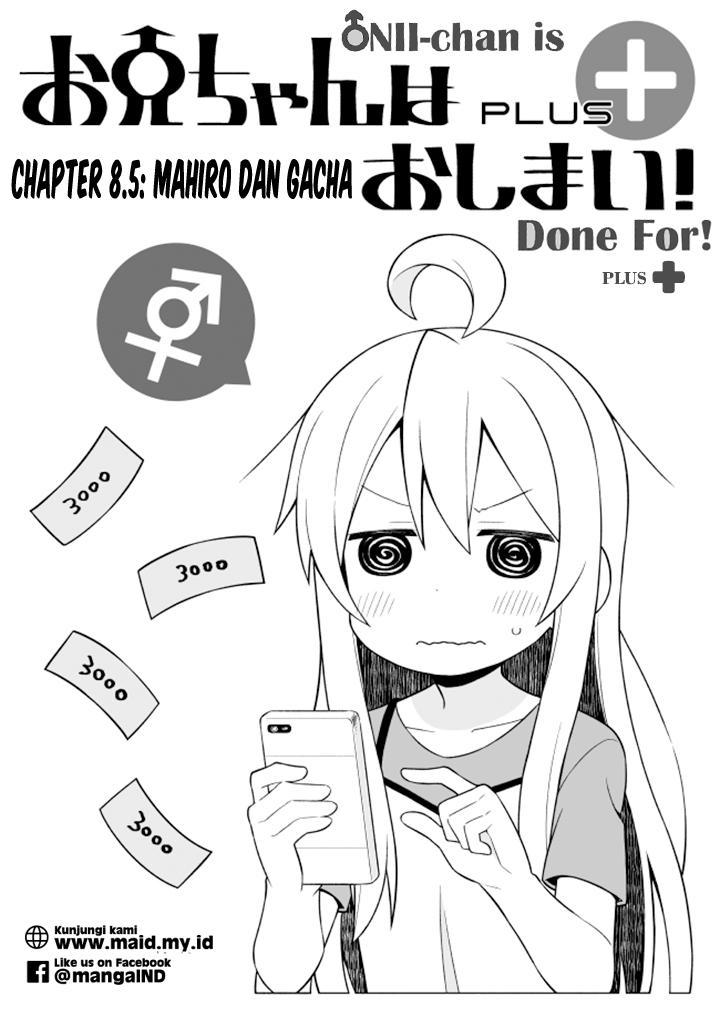 Dilarang COPAS - situs resmi www.mangacanblog.com - Komik onii chan wa oshimai 008 - chapter 8 9 Indonesia onii chan wa oshimai 008 - chapter 8 Terbaru 17|Baca Manga Komik Indonesia|Mangacan
