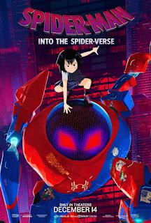 Sony Pictures Animation ha mostrado nuevos pósters de personaje de su próxima película SPIDER-MAN: UN NUEVO UNIVERSO, en los que podemos ver a Peter Porker/Spider-Ham, Spider-Man Noir, Spider-Gwen, Peni Parker y Peter Parker.