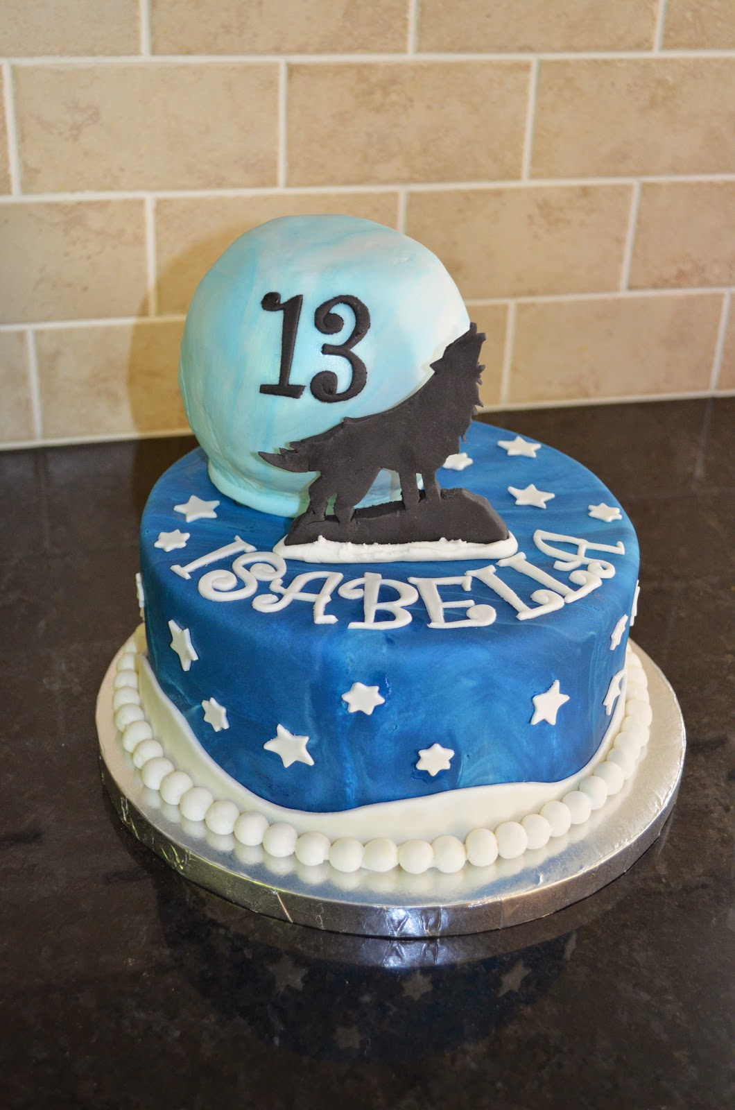 Pure Delights Baking Co Wolf Cake