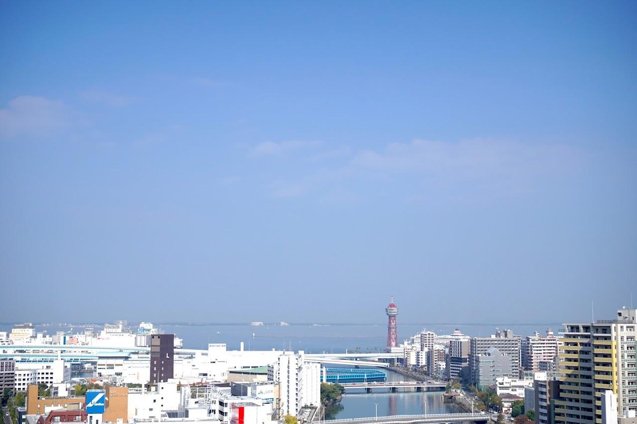 アクロス福岡(ACROS FUKUOKA)からの眺め