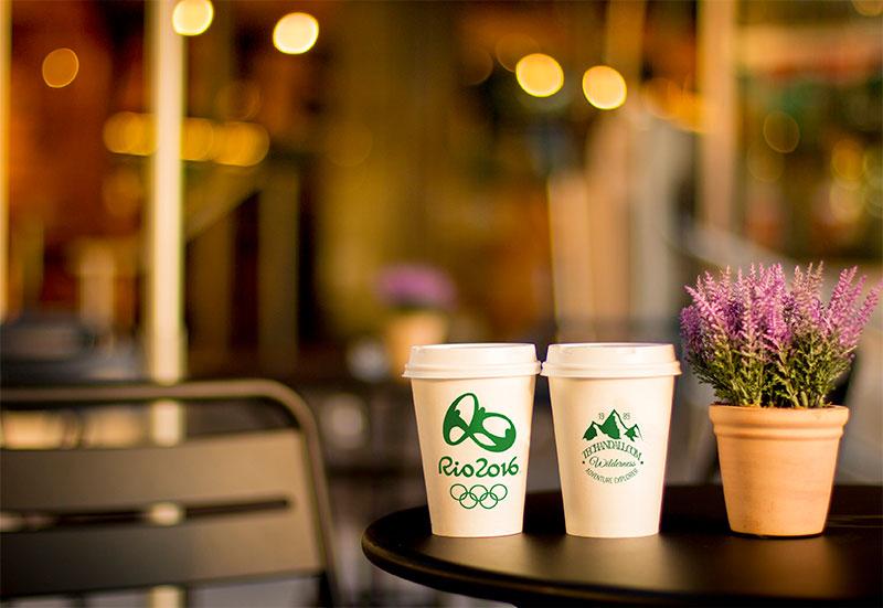 Coffee Cup Branding Mock-Up