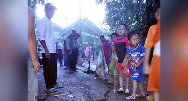 Rumah Rusak Akibat Tanah Bergerak yang Gegerkan Warga Tangerang, Efek Gempa Banten ?