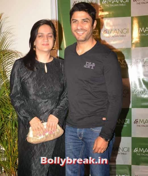 Vikas Bhalla and Punita Bhalla, Page 3 Celebs at 'Le Mangii' Launch Party