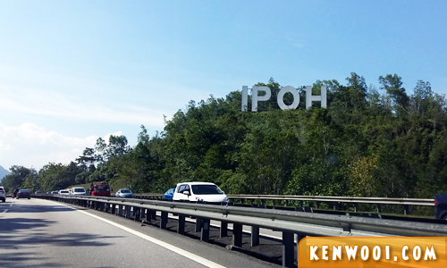 ipoh sign highway