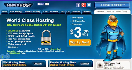 Coupon Lifetime Hawk Host tháng 2-2015 ~ Share Coupon Domain Hosting - Discount code domain / hosting / VPS