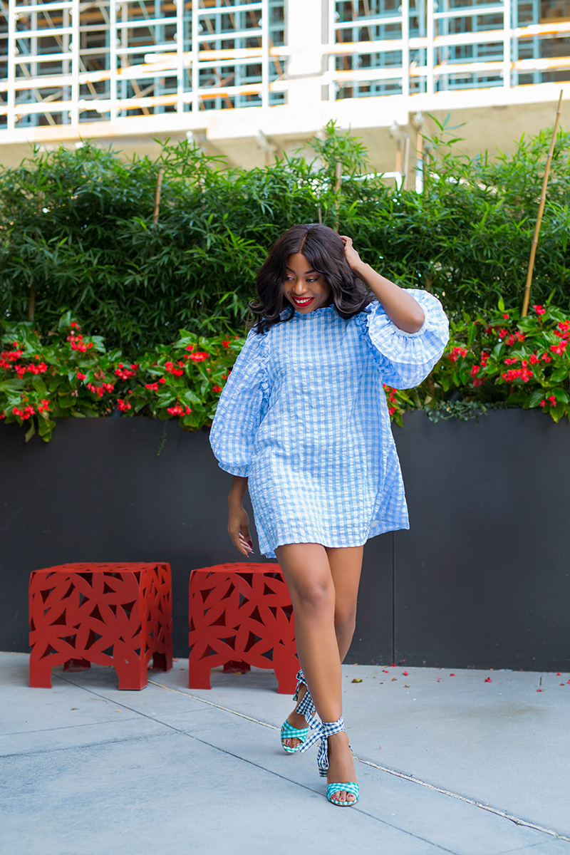 summer days, sister jane gingham dress, www.jadore-fashion.com