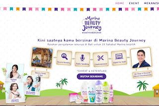 Kontes Foto Marina Beauty Journey Berhadiah Paket Liburan Ke bali
