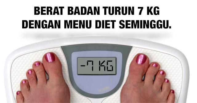 13 Cara Menurunkan Berat Badan dalam 1 Minggu Secara Alami ...