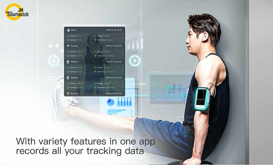 Smart Band Fiteness Tracker