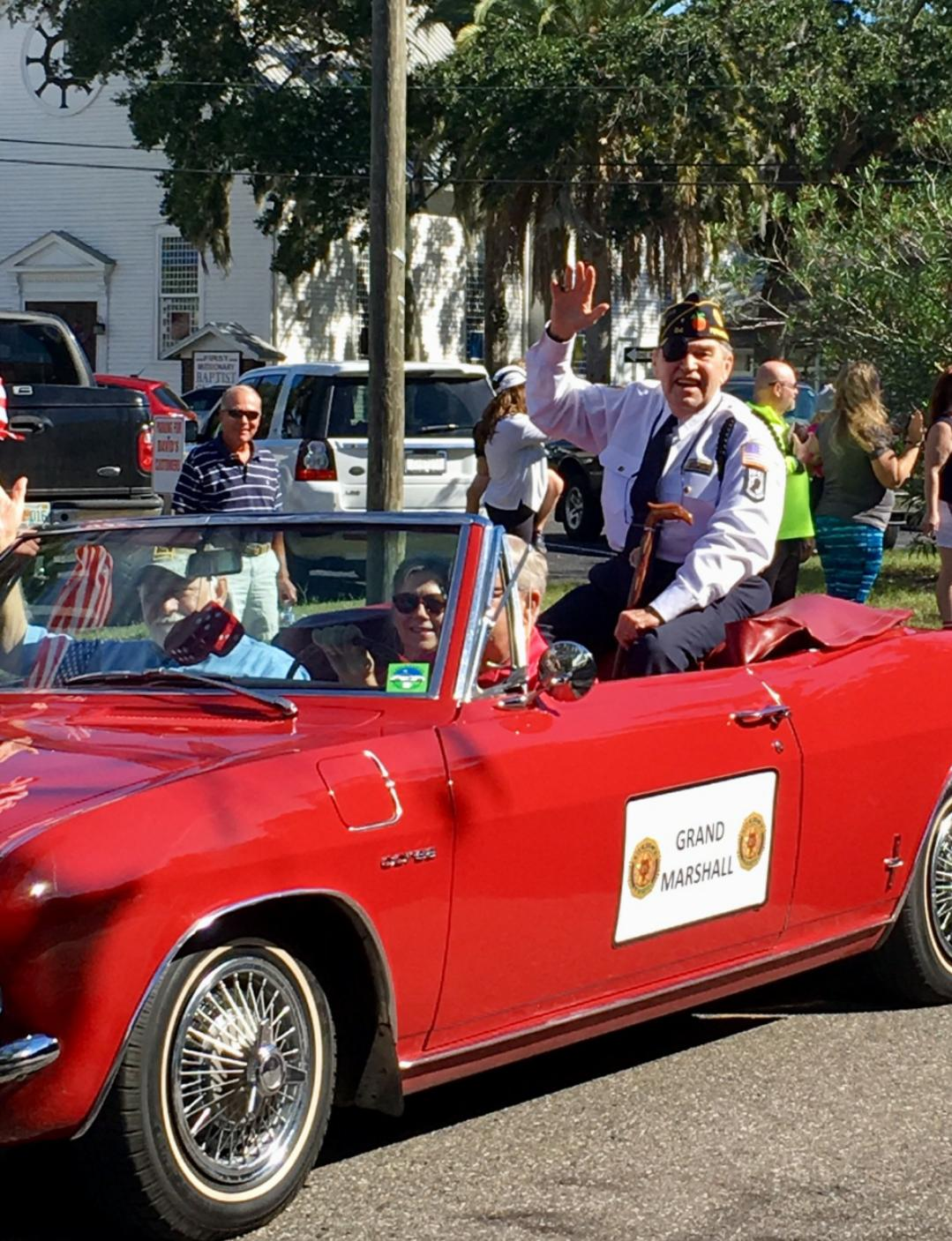 Veterans Day Parade in Fernandina Beach, Florida