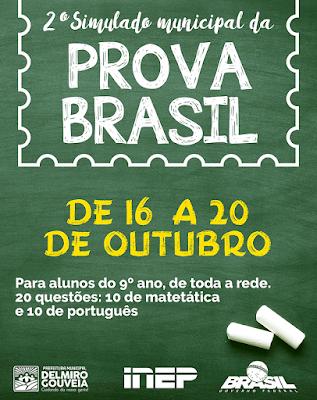 Em Delmiro Gouveia, alunos das Escolas Municipais participarão de simulado preparatório para a Prova Brasil 2017