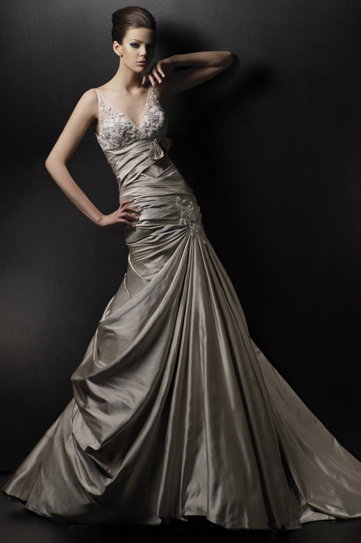 Nothing But Beauty Colorful Wedding Dresses Brown