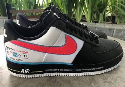 df901d879425a1 Nike Sportswear will be releasing an all-new racing-style rendition of the  Air Force 1 Low scheduled to arrive early 2019. This iteration of the Nike  Air ...