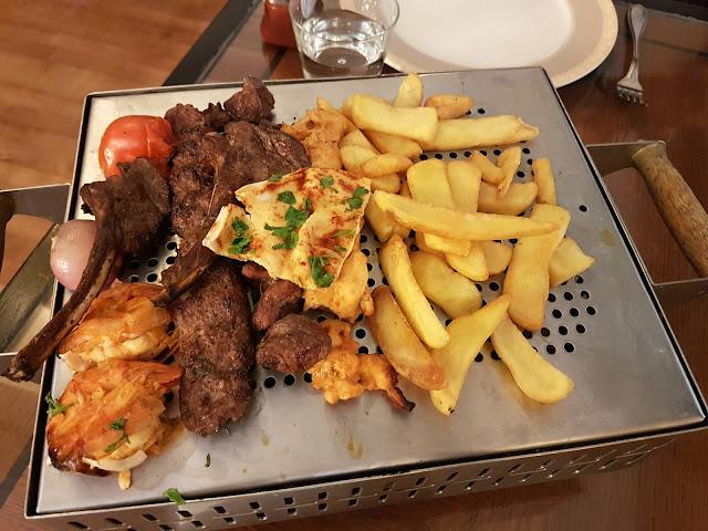 Ayam Zamam Mixed Grill at Ayam Zamam, Kuwait