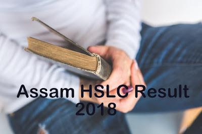 SEBA Assam HSLC Result 2018