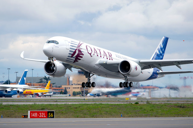 First A350 XWB Will Be Owned By Qatar Airways