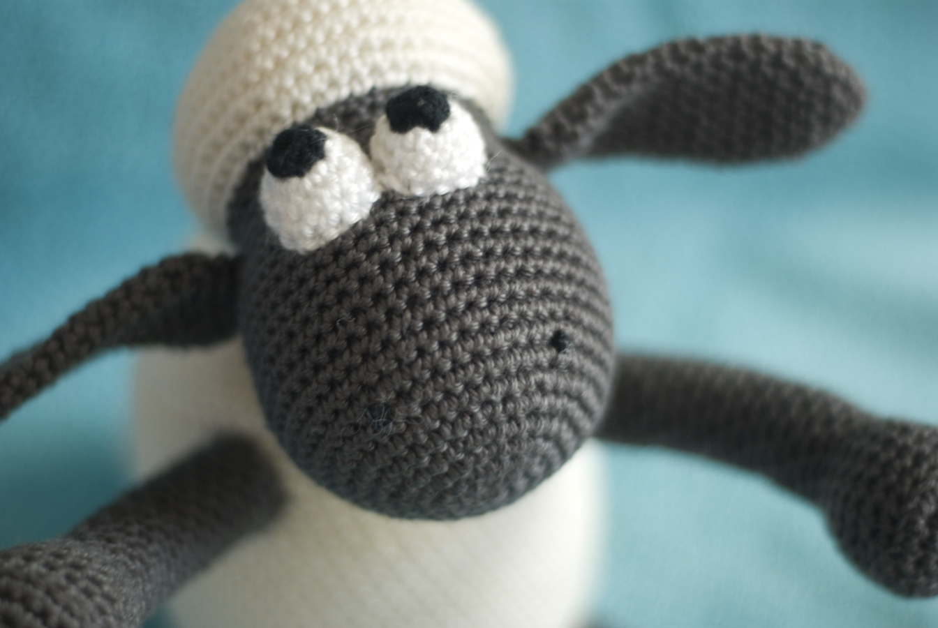 Haakhooked Gehaakte Knuffel Shaun The Sheep