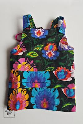 1531. Mini sukienka w kwiaty