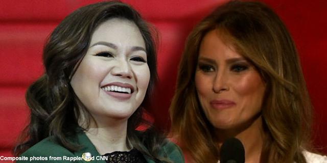 Wow! Inimbatahan ni Melania Trump si Ms Honeylet Avanceña Para sa NY Event