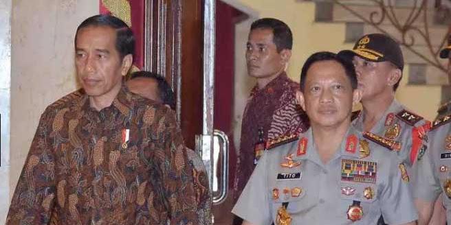 Tito Karnavian Dikabarkan Akan Dampingi Jokowi Pilres 2019?