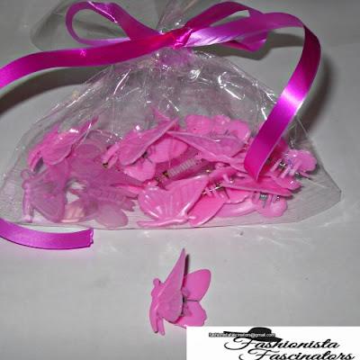 Pink butterfly hair clips Nairobi Kenya