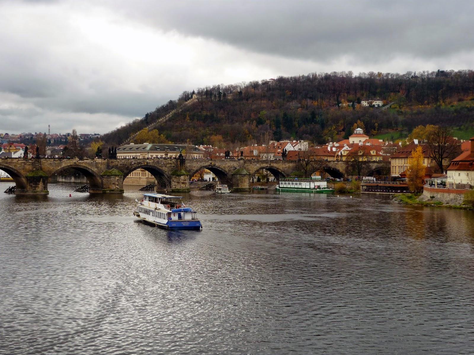 Carl's Bridge in Autumn by Igor L.