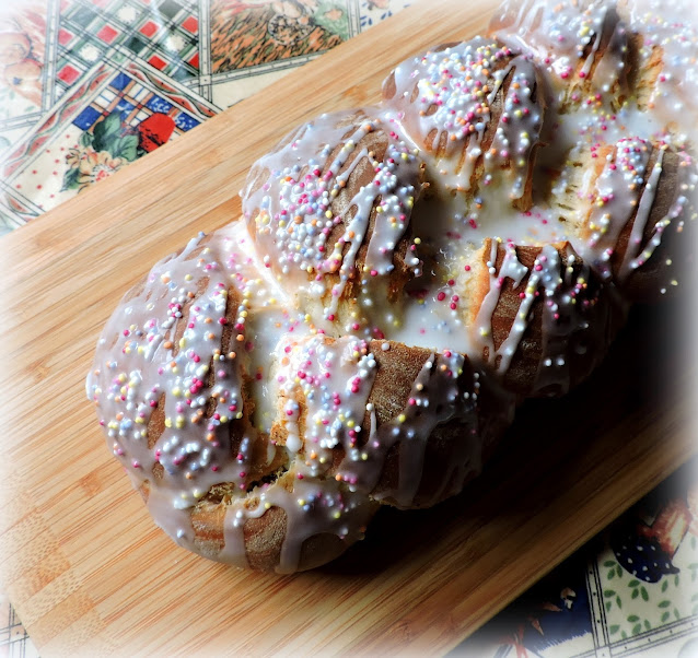 Glazed Easter Bread