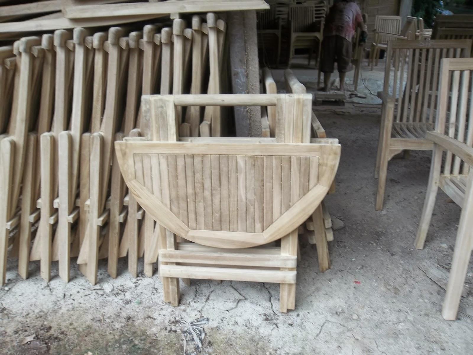 Garden furniture jepara 1 bangku marboro
