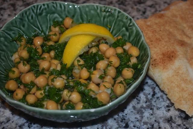 Balila (Warm Chickpea Salad) Recipe