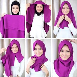 5 Tutorial Hijab Mudah Modern Untuk Perempuan Karir