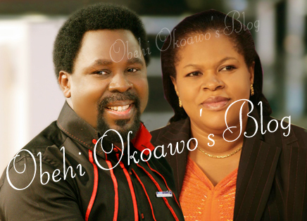 Obehi Okoawo's Blog: How Prophet TB Joshua Proposed To Me   Wife