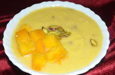 गर्मियों में खाएं ठंडी ठंडी आम की खीर