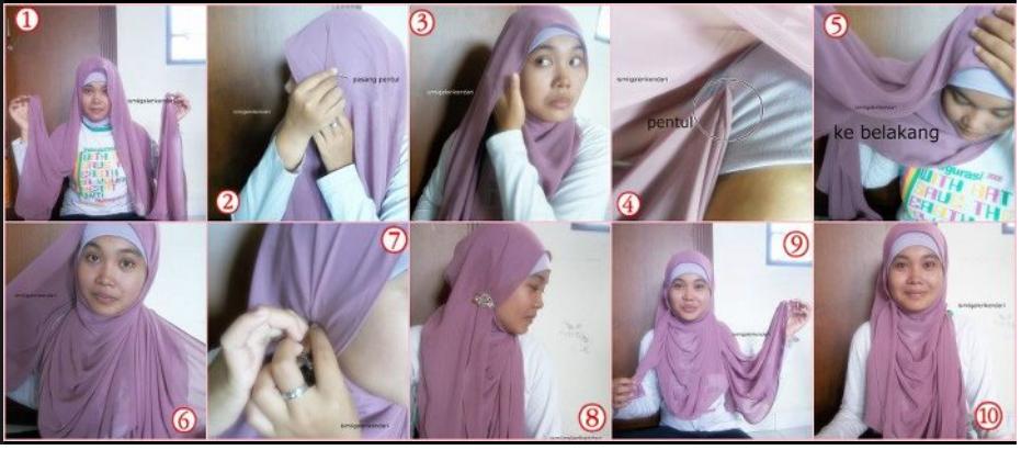 Bagi kau yang masih sekolah baik itu Sekolah Menengah Pertama atau Sekolah Menengan Atas dan kau juga berjilbab Cara Memakai Jilbab Segi Empat Untuk Sekolah