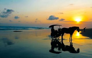 Pantai Prangtritis - Pesona pantai terindah di  kota yogyakarta