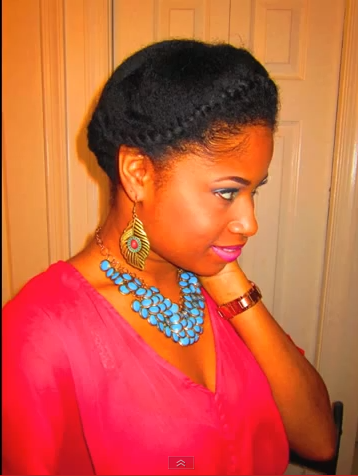 Tremendous Frobunni Protective Hairstyles On Short Natural Hair Without Weave Short Hairstyles Gunalazisus