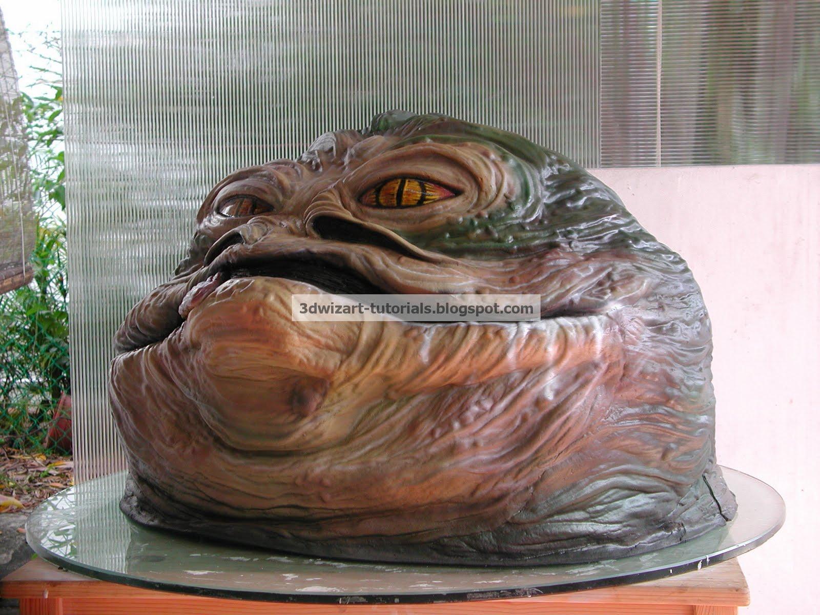 3dwizart Jabba The Hutt Star Wars