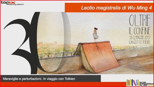 """Wu Ming 4 e la sua lectio """"minimalis"""" su Tolkien a Torino"""