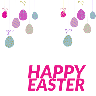 5/5 Designs of Easter eggs Facebook Frames Free Download