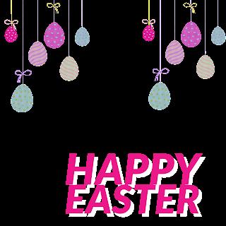 5/5 Designs of Easter eggs Facebook Frames Free Download
