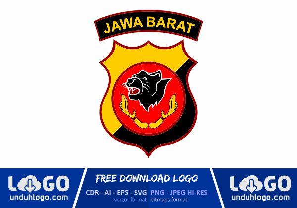 Logo Polda Jawa Barat