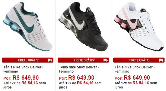 8ef1e02f63 Onde Comprar Tênis Nike Shox Deliver Online- Cor e Preço