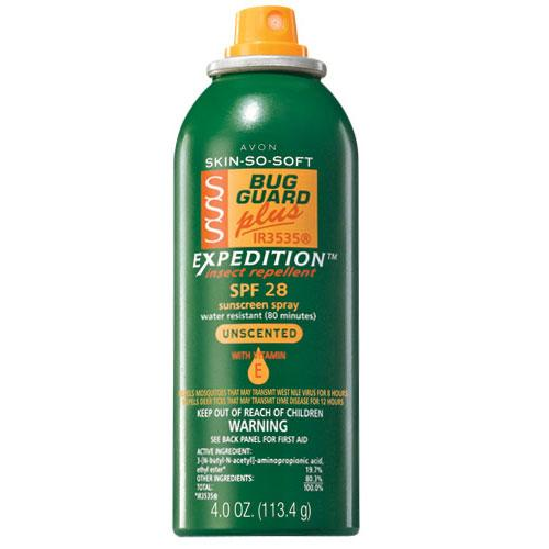 Skin So Soft Bug Guard Plus IR3535® Expedition™ SPF 28 Aerosol Spray