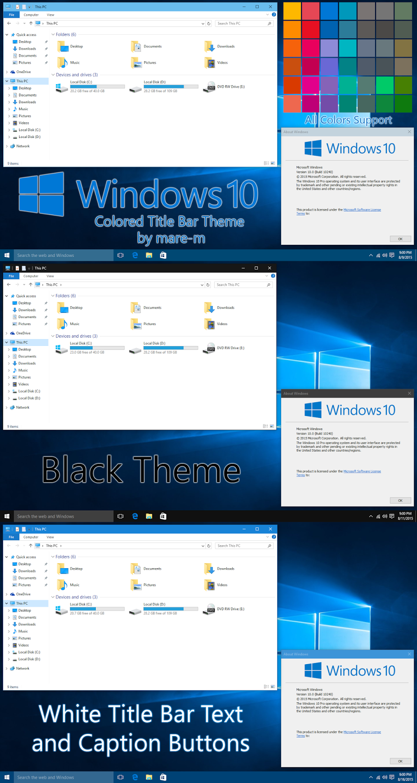 Google themes x202 - Top Best Windows 10 Themes To Spice Up Your Desktop