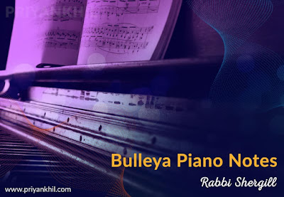Bulleya Piano Notes RAW