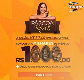 73f2dfc19 Participe da Promoção Páscoa Real da Brasil Cacau | As melhores ...