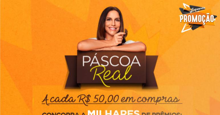79544e86d Participe da Promoção Páscoa Real da Brasil Cacau | As melhores promoções