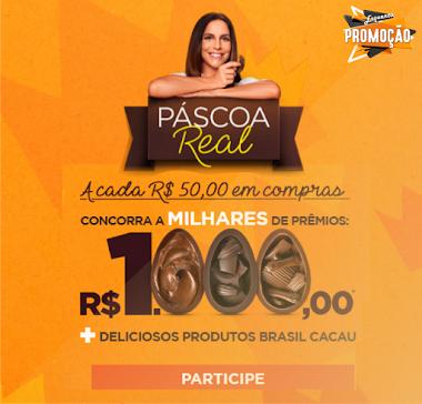 Participe da Promoção Páscoa Real da Brasil Cacau