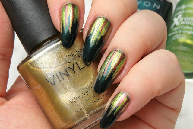Easy Waterfall Nail Art Design