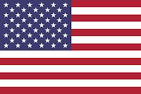 Le Chameau Bleu  - Drapeau Américain USA